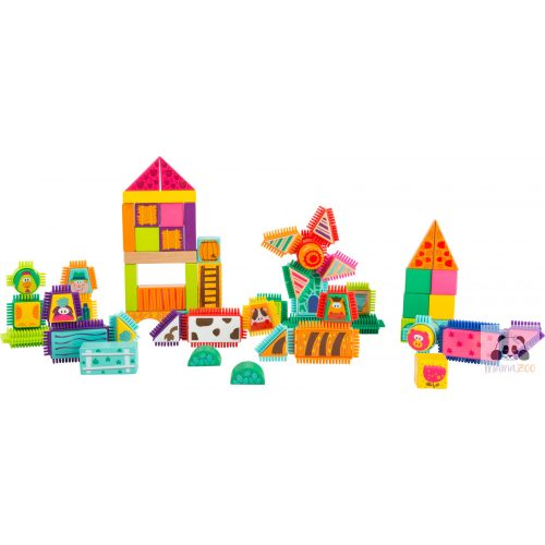 fakockák és tüskék építő játék - farm