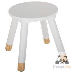 Sámli, kis szék -fehér