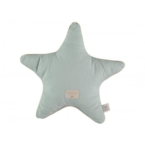 Nobodinoz Aristote Csillag párna - aqua kék