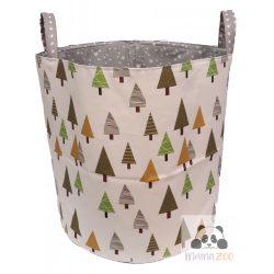 Pine trees - Fenyőfa mintás tároló
