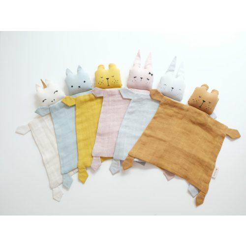 Fabelab alvókendő maci- sárga