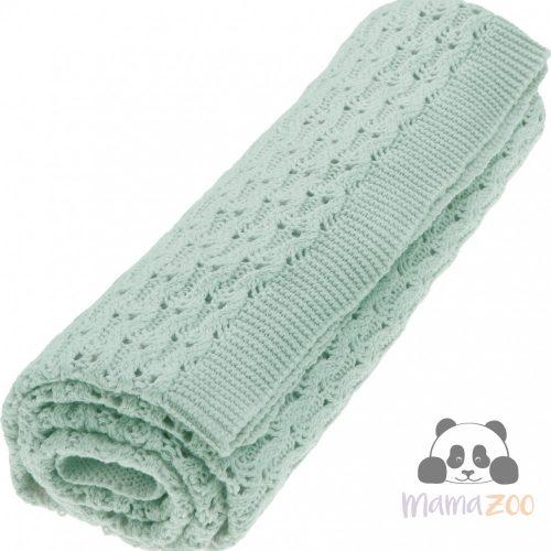 Grace Organic Blanket in Sage Green