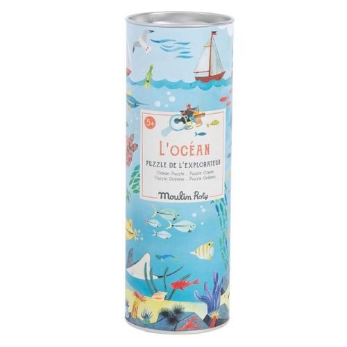 Puzzle for explorers  - ocean
