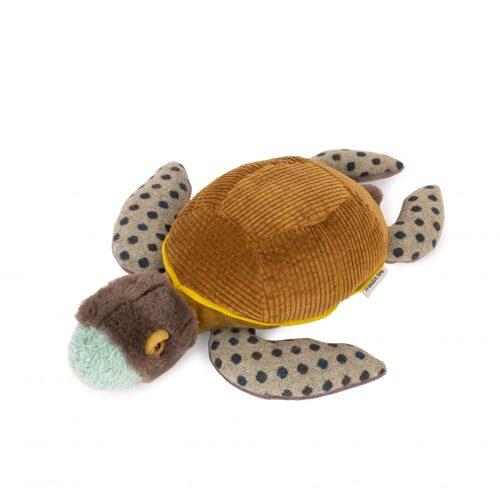 Plüss  bársony teknős -  kicsi