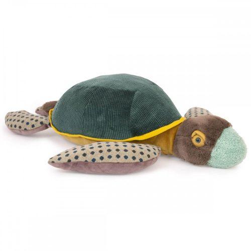 Bársony plüss teknős - nagy