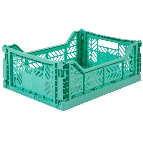 Aykasa összecsukható tároló rekesz - menta zöld M méret)