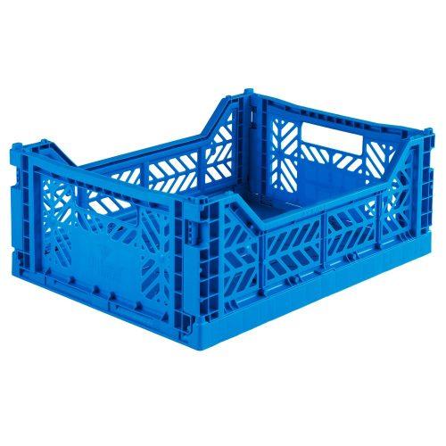 Aykasa összecsukható tároló rekesz - kék (M méret)