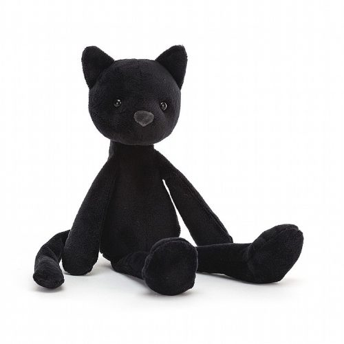 JellyCat bewitching cat * plüss fekete cica