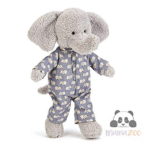 JellyCat Pizsamás elefánt