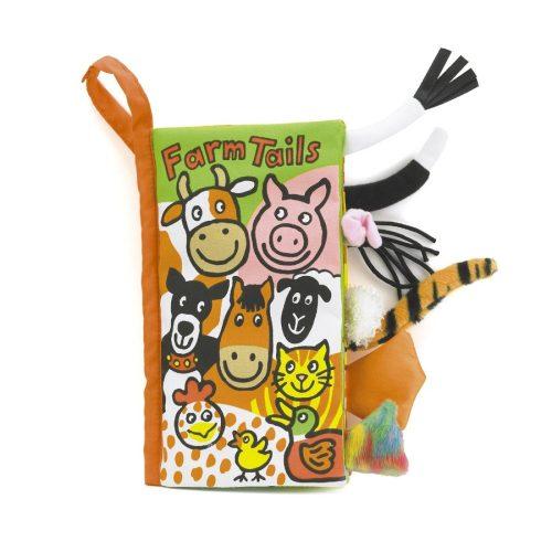 JellyCat Farkinca puha könyv - Farm
