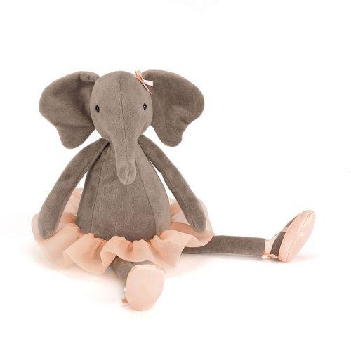 JellyCat Dancing Darcey - balerina elefánt