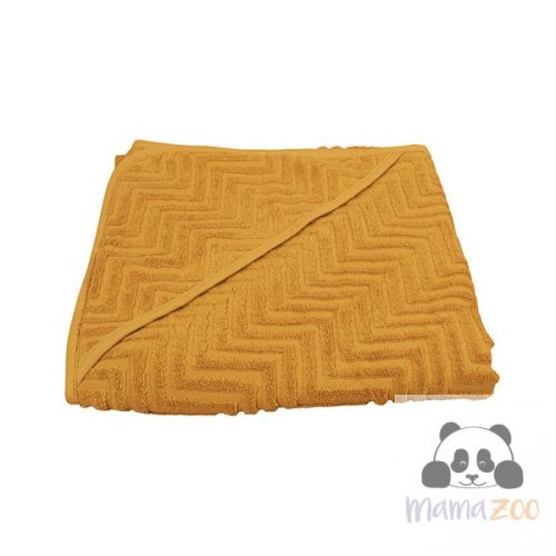 Bath towel, Golden mustard