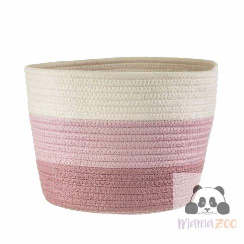 Nevada Pink Rope Basket