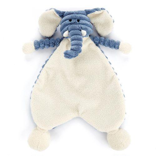 JellyCat Cordy roy - elefántos alvókendő, rongyi