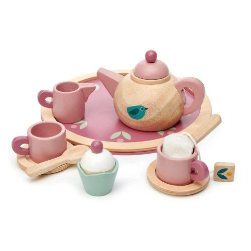Fa teáskészlet (Birdie Tea set)