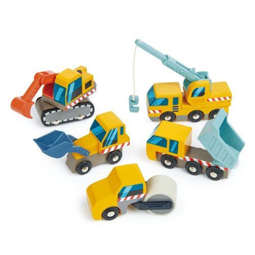 Tender Leaf Toys munkagépek