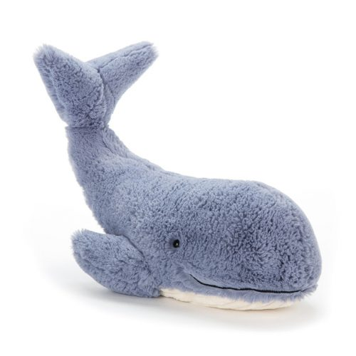 JellyCat Wilbur Whale - bálna ,  kicsi