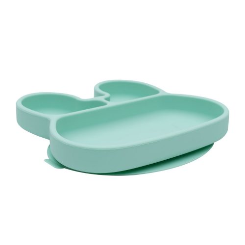 """we might be tiny - Stickie Plate """"Bunny"""" / Minty Green"""