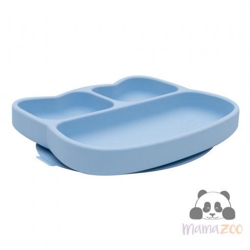 Stickie tapadós tányér - kék cica