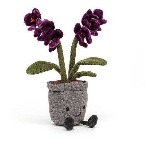 Jellycat lila orchidea