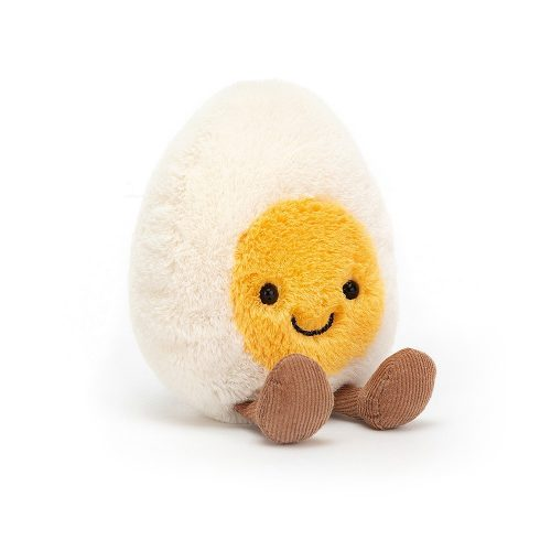 JellyCat plüss főtt tojás - kicsi