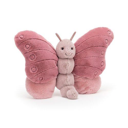 Beatrice a plüss pillangó