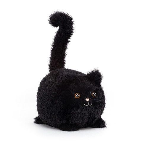 JellyCat plüss cica / Kitten Caboodle fekete