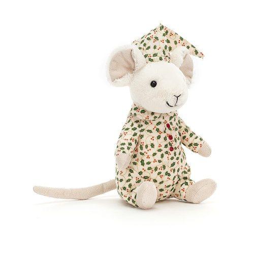 Merry mouse bedtime - plüss pizsamás kisegér