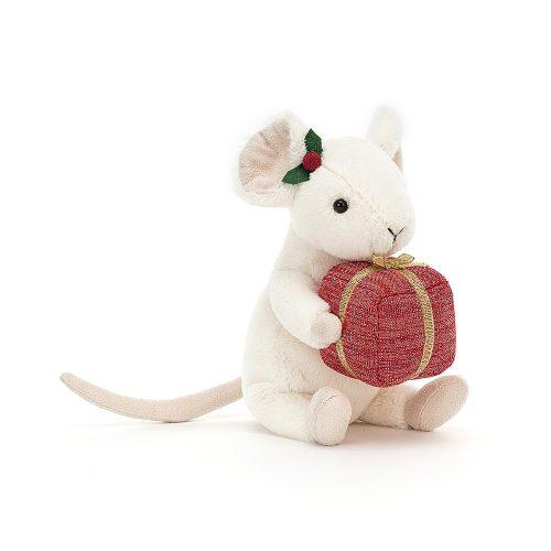 Merry mouse - plüss kisegér ajándékkal