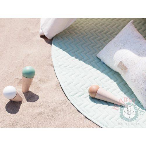 Nobodinoz kiowa pamut játszószőnyeg - provence zöld