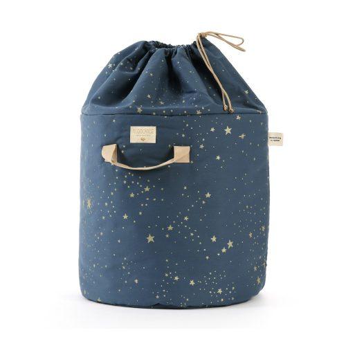 Nobodinoz Bamboo toy bag Small stella night blue