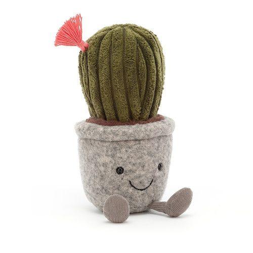 JellyCat Silly Succulent - hordó kaktusz