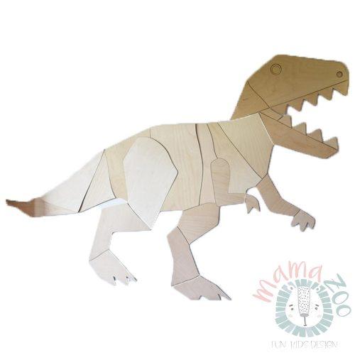 origami T-Rex fa falidísz M méret