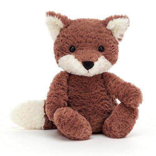JellyCat Tumbletuft Fox - plüss róka