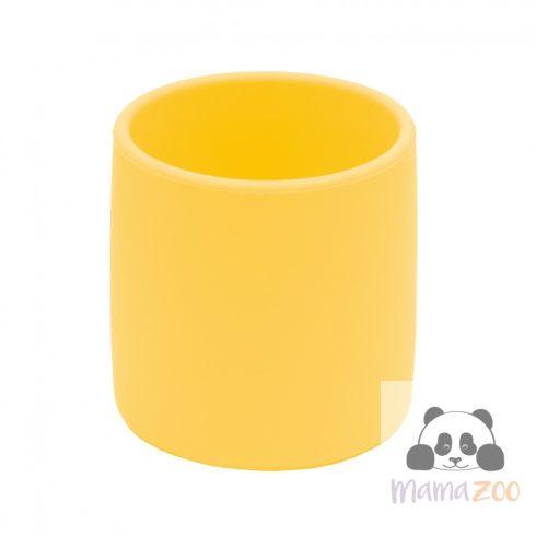 Puha szilikon pohár - sárga